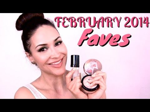 February 2014 Beauty Faves!