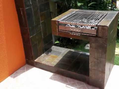 Parrillas espacios para degustar y compartir al aire for Asadores de jardin modernos