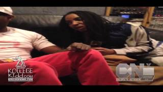 Tadoe Tweakin At The Studio With Chief Keef & Bloodmoney | @kollegekidd