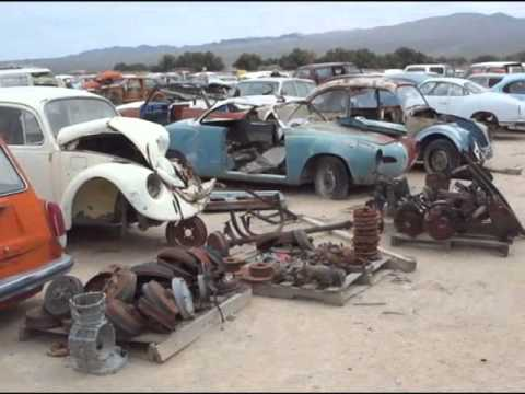 2011 Manx Club Calico visit's Man with a Yard Full of Rusty Cars.wmv