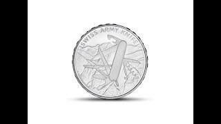 Swiss Army Knife Commemorative Coin 20 CHF 2018