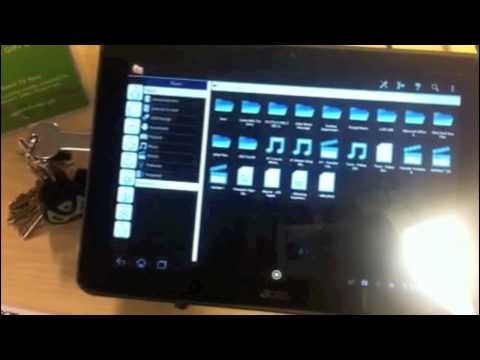 Acer Iconia A200 - How to Access Your Files From Your Flash Drive