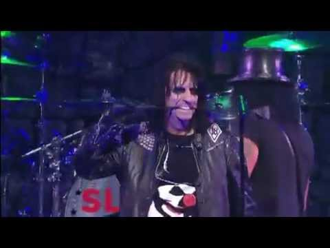 Slash feat. Alice Cooper - &quot;School&#039;s Out&quot; (Golden Gods Awards 2012)