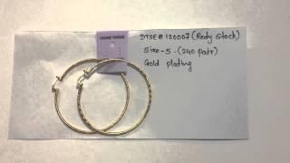 14kt gold filled earrings