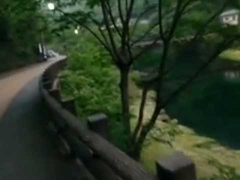 Splendid Japanese hot spring    Open-air hot spring 湯原温泉 砂湯