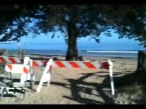 Japan Tsunami – March 11, 2011 del Monte Beach, Monterey Bay, California, USA