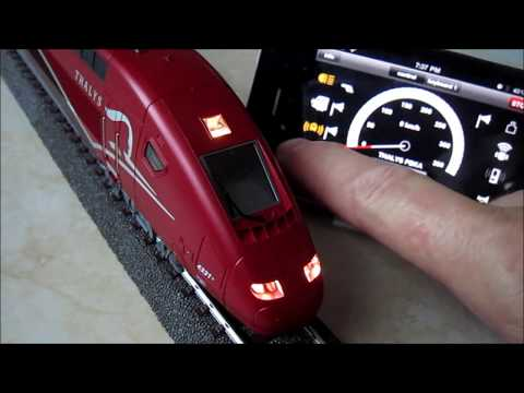 THALYS TGV PBKA MARKLIN HO  WI-FI HD part # 1