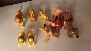 Surprise Inside! McDonalds Burger King The Lion King Happy Meal Toys Huevos Sorpresa