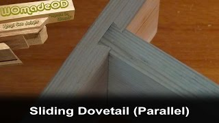 Hand Cut Sliding Dovetail Joint