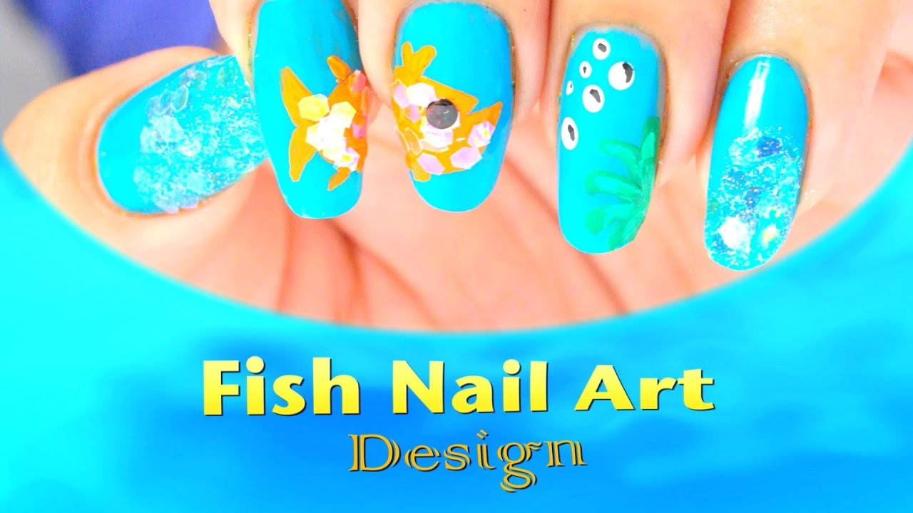 Fish Nail Art Design do it
