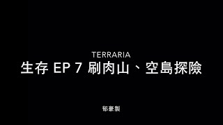 Terraria手機版生存 EP 7 刷肉山、空島冒險