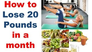 [This is the only option to lose 20 pounds] Video