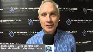 Coach Vesterdahl knows Rochester win a good one