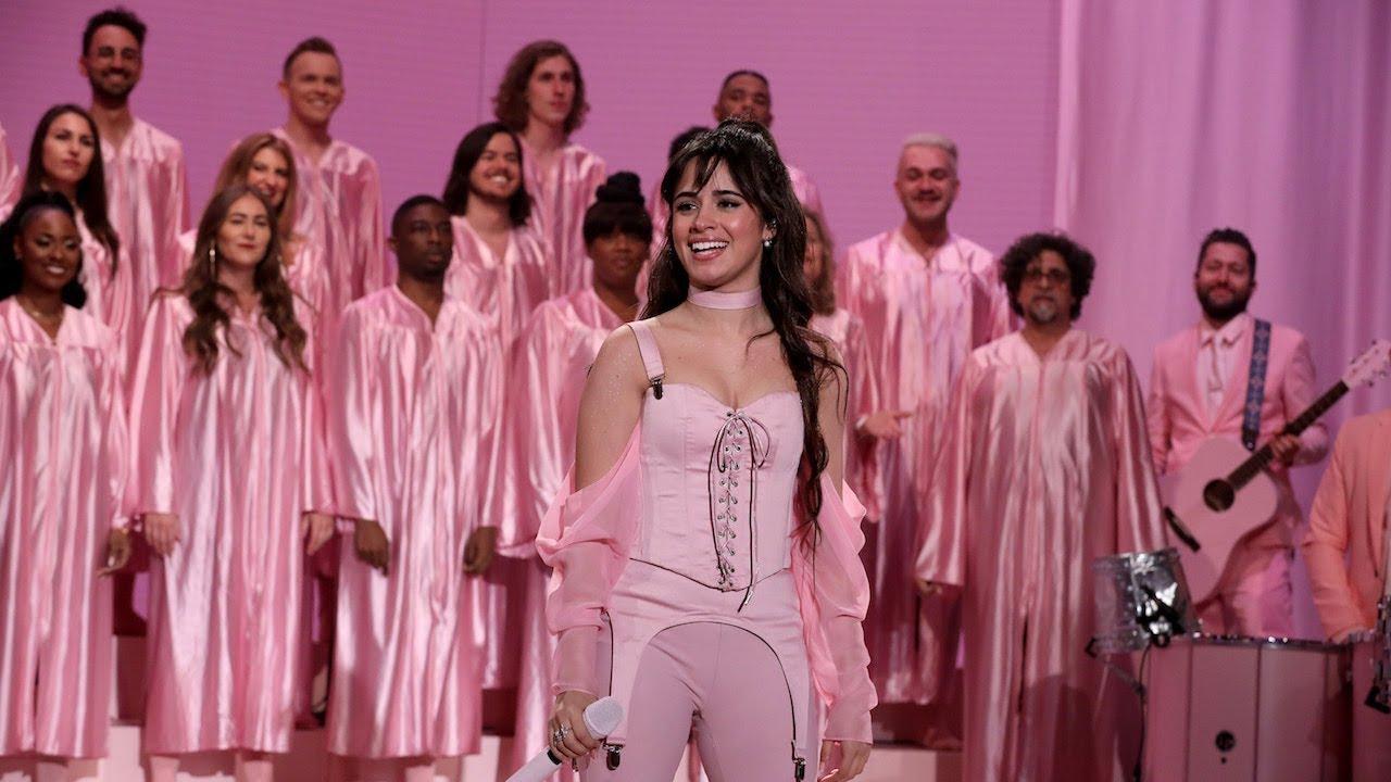 """Camila Cabello - 米The Ellen Showにて新譜「Romance」から""""Living Proof""""を披露 スタジオライブ映像を公開 thm Music info Clip"""