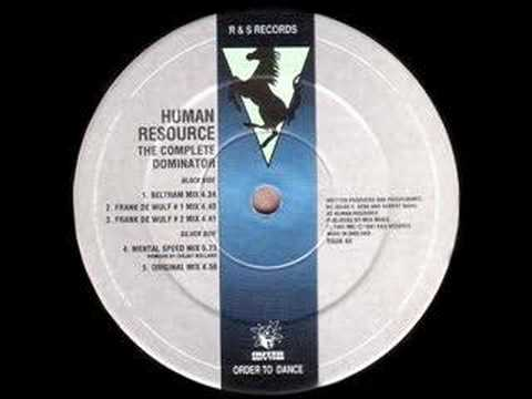 Human Resource - Dominator (Ceejay Bolland Mental Speed Mix)