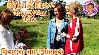 BIBI & TINA TOHUWABOHU TOTAL INTERVIEW | Miley trifft die Filmstars | CuteBabyMiley Spezial