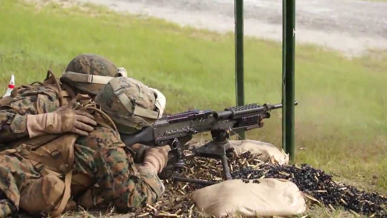 Machine Gunner Usmc Marine Machine Gunners