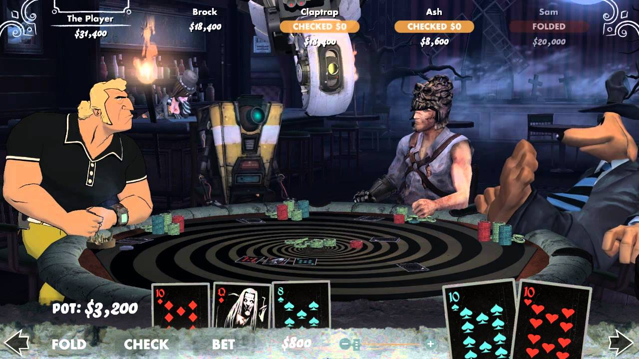 Poker Night 2 Table