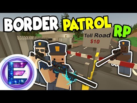 Border Patrol RP - Show me your ID - Military and the president is exempt - Unturned RP thumbnail