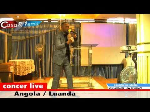 Concert José Nzita à Luanda Angola