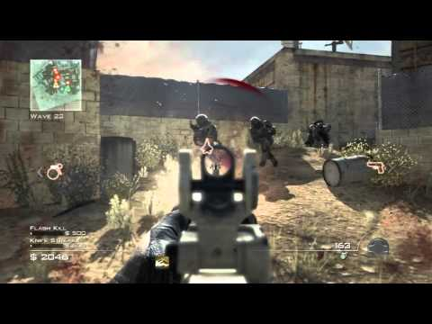 MW3: Spec Ops Survival Mode Gameplay w/ DarksydePhil pt3