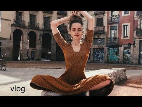vlog : BARCELONA , мои обычные дни с друзьями , мысли