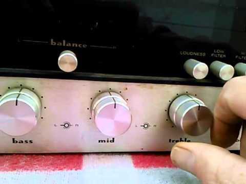 Marantz Stereo Receiver Model 2250B Part 2