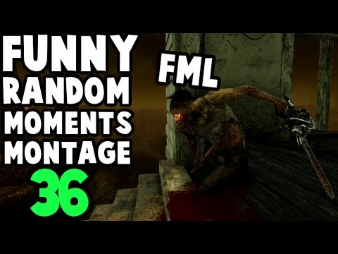 Dead by Daylight funny random moments montage 36