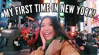 MY FIRST TIME IN NEW YORK! | NYC Travel Vlog (Part 1)