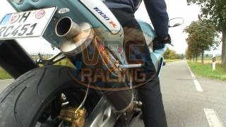 Honda VTR 1000 SP2 RC51 Akrapovic V2 Sound www.vrc-racing.com