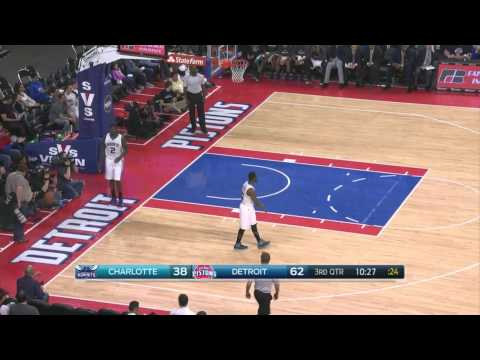 Reggie Jackson Alley Oops to Andre Drummond