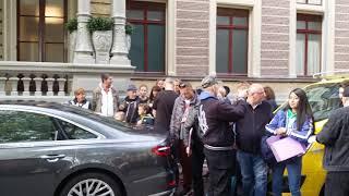 U2 (Bono and Edge) in Amstel Hotel Amsterdam op 8 oktober 2018 (voor het optreden in Ziggo Dome)