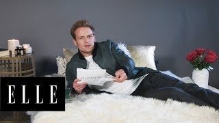 Download Song Outlander's Sam Heughan Reads His Thirstiest Tweets | #ThirstTweets | ELLE Free StafaMp3