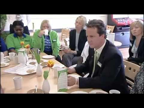 David Cameron exposed