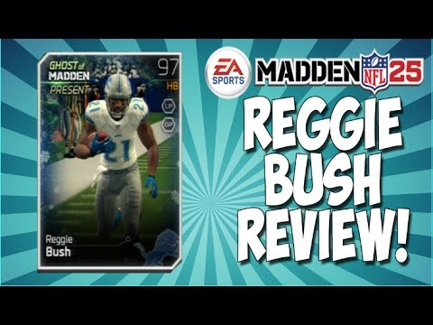 MUT 25   Ghost Reggie Bush Review! 97 Overall Ghost!