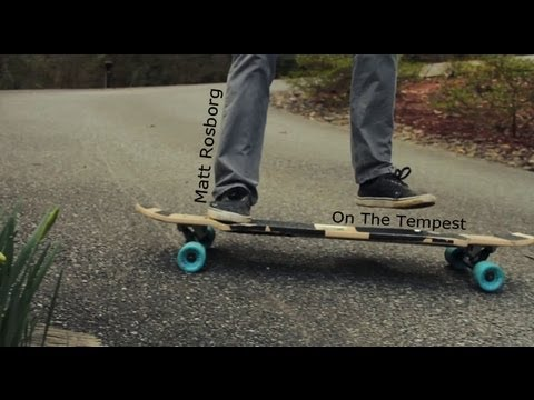 Roar - Ft. Matt Rosborg on the Nelson Longboards Tempest