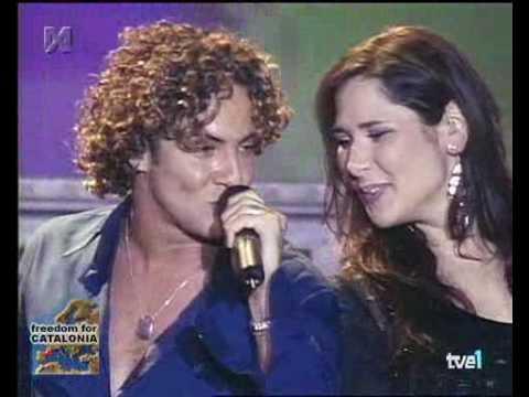David Bisbal - Vivir Lo Nuestro (Duet With Rosa)