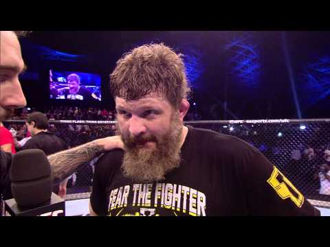 Fight Night Abu Dhabi: Roy Nelson Octagon Interview