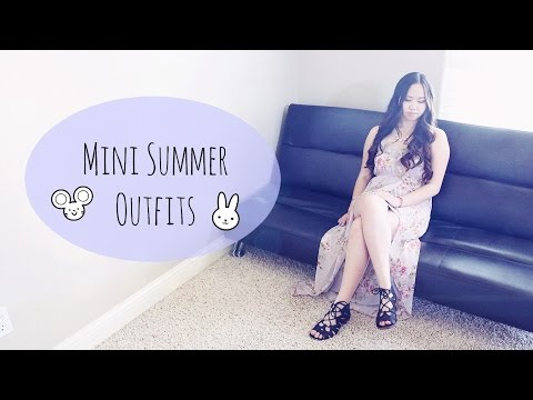 Mini Summer Outfits