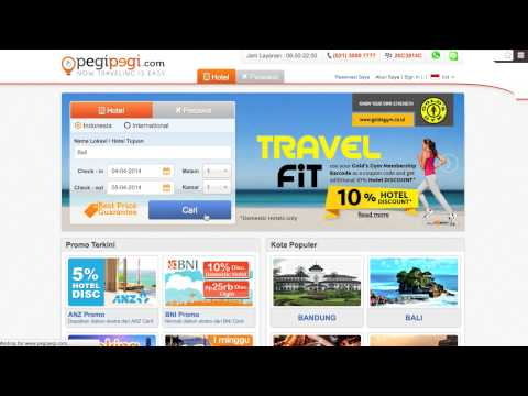 Cara Booking Hotel di pegipegi.com
