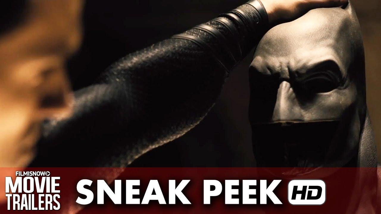 Batman v Superman: Dawn of Justice Sneak Peek 'Unmasking Batman' (2016) HD