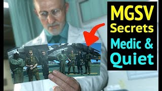 Quiet vs Medic Origins in Metal Gear Solid V: Phantom Pain (MGS5)