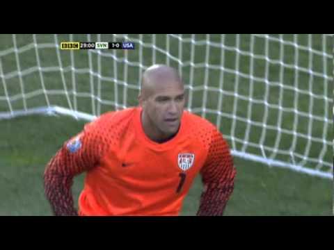 FIFA World Cup 2010 Group C Slovenia - USA 18/6/2010, 16:00