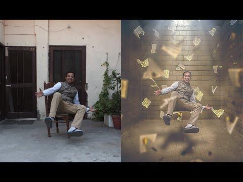 Hold me Photoshop Manipulation | Levitation Photo Effects Tutorial