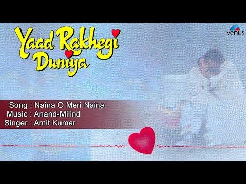 Yaad Rakhegi Duniya : Naina O Meri Naina Full Audio Song | Aditya Pancholi, Rukhsar | video