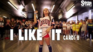Cardi B I Like It Street Dance Choreography Sabrina Lonis