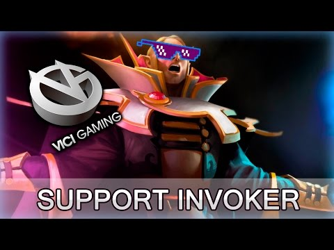 Invoker Support and first OD pick in 6.86 — VG vs CDEC