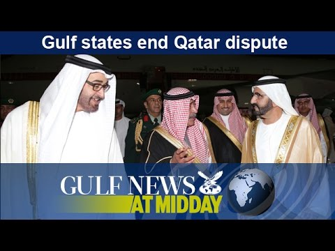 Gulf states end Qatar dispute - GN Midday