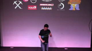 UK National YoYo Contest 2015 - 1A Finals - Yuji Kelly - Tied 1st