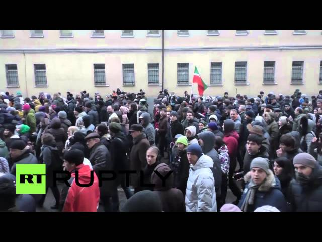 Russia: Tens of thousands join massive march for Nemtsov